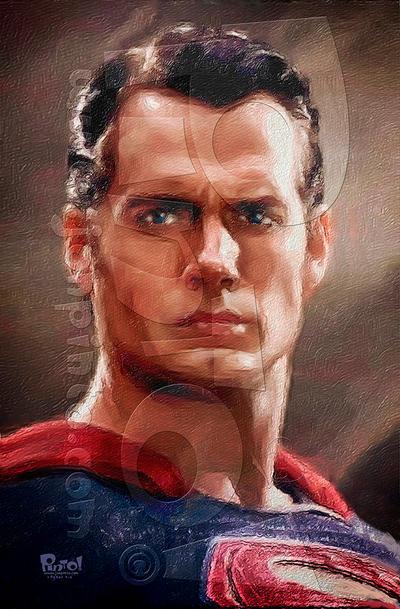 Man of Steel by jonpinto
