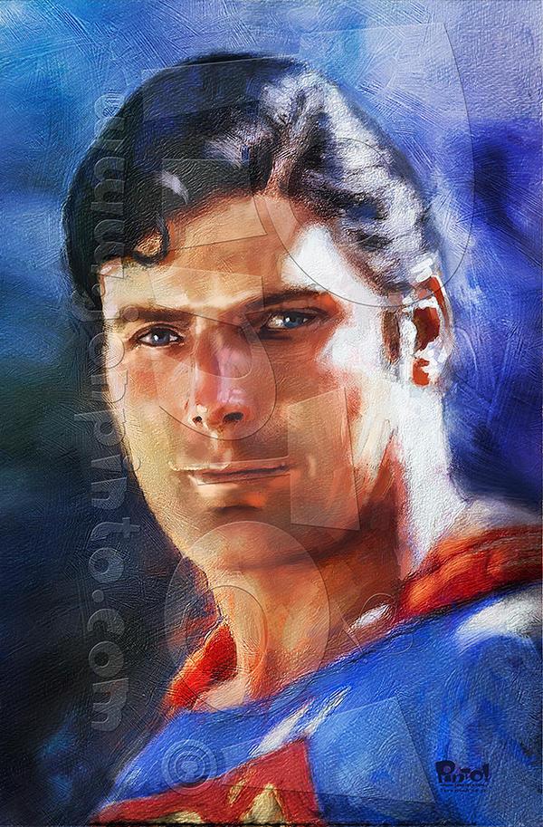 Superman: Christopher Reeve by jonpinto