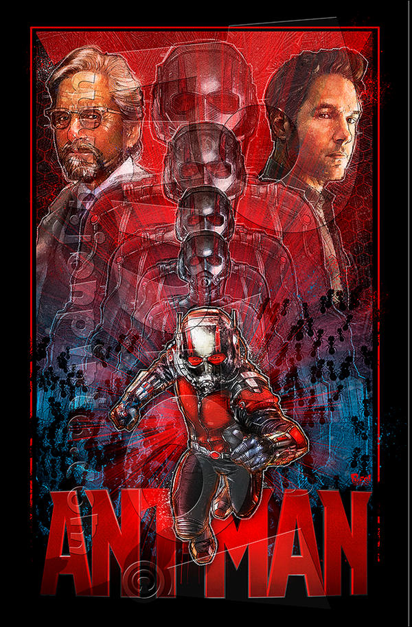 Ant-Man by jonpinto