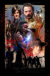 Walking Dead by jonpinto