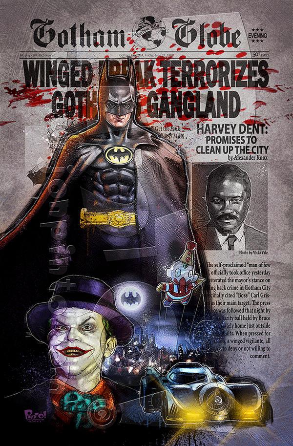Batman '89 by jonpinto