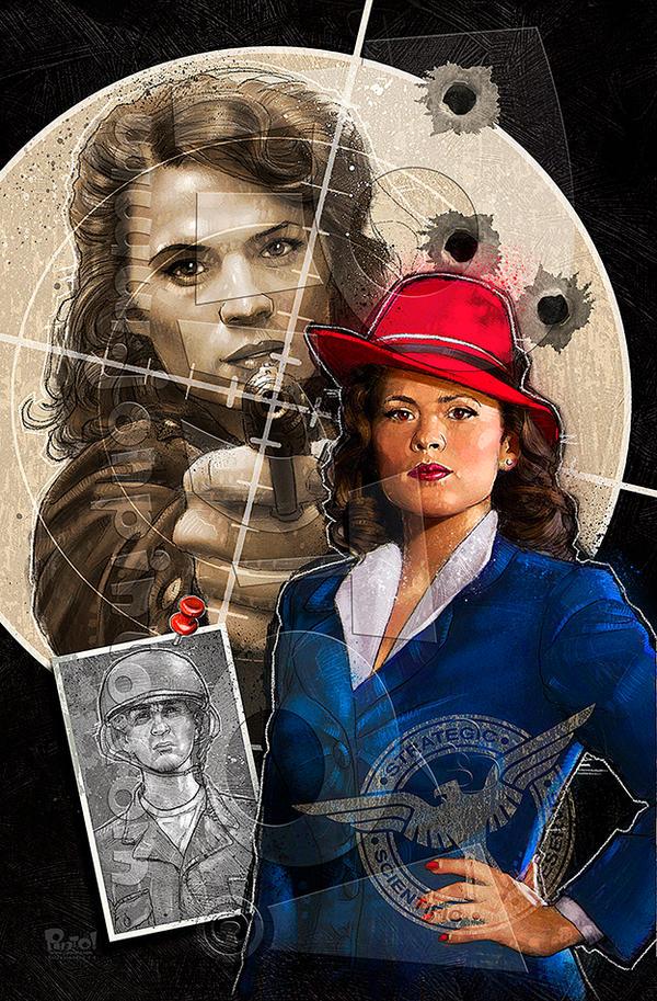 Agent Carter by jonpinto