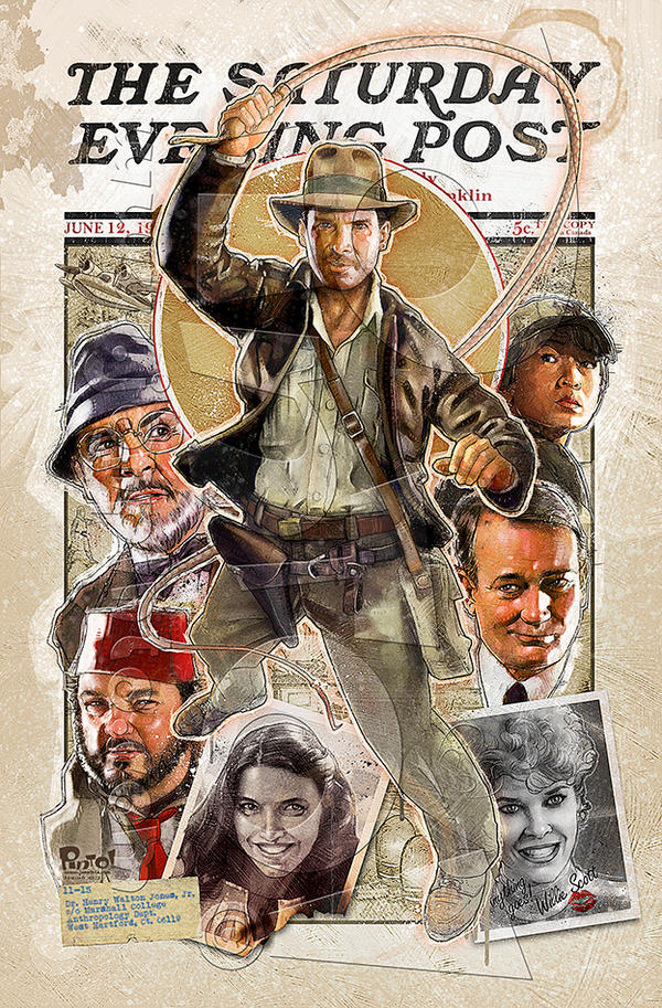 Indiana Jones Post by jonpinto