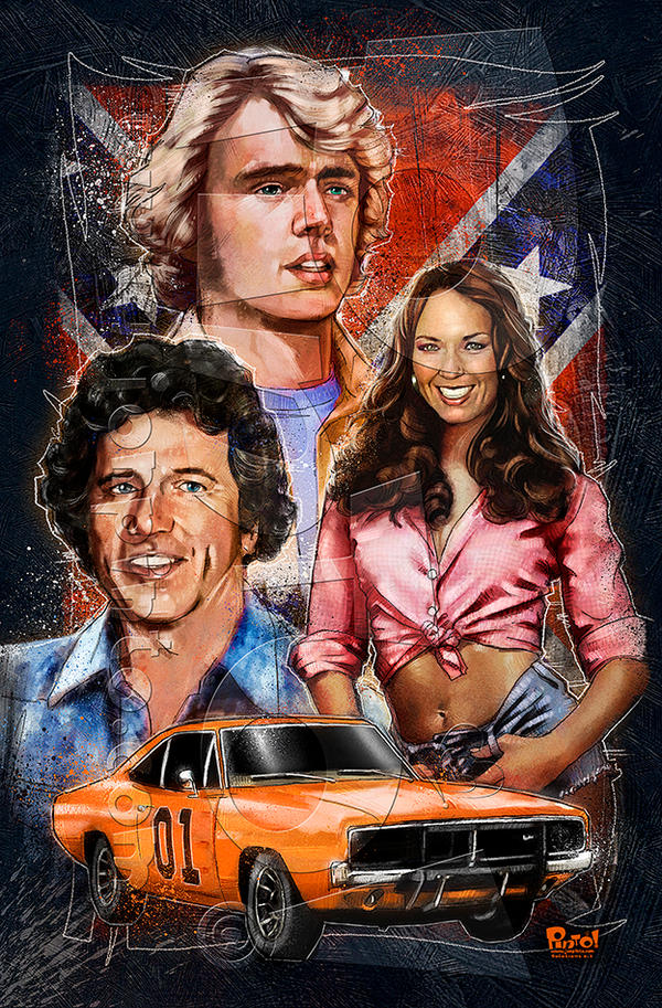 Dukes of Hazzard by jonpinto
