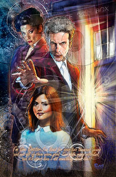 12th Doctor, Clara and Missy