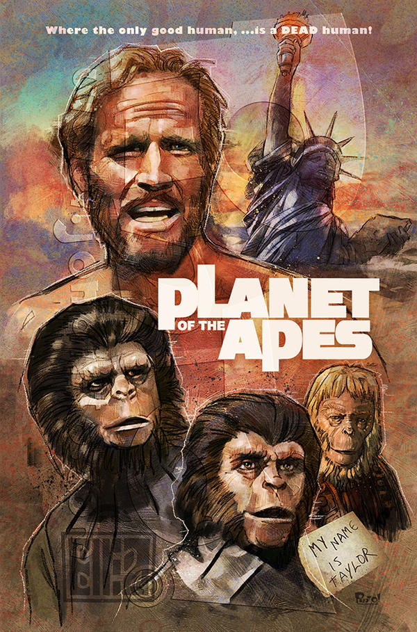 Planet of the Apes by jonpinto
