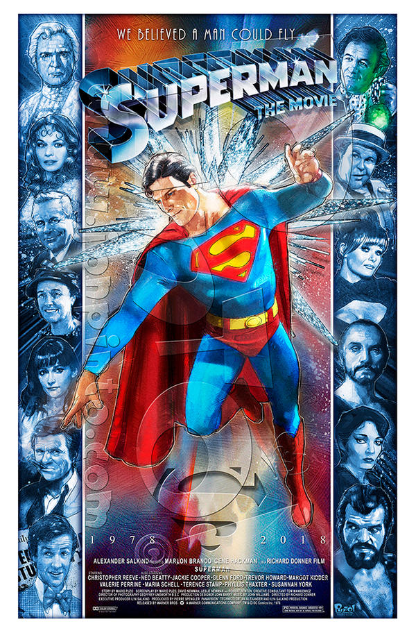 Superman 40th Anniversary by jonpinto
