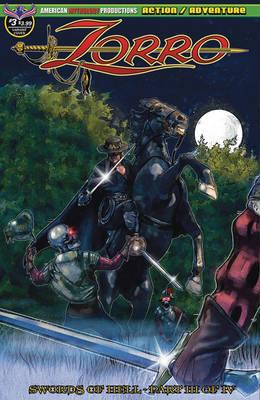 Zorro #3 Cover