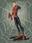 SpideyToon by jonpinto