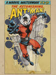 Retro Ant-Man by jonpinto