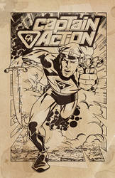 Captain Action BW
