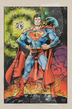 Superman '86 homage
