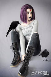CASUAL RAVEN - TEEN TITANS by JinxKittieCosplay