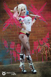 HARLEY QUINN - SUICIDE SQUAD 01 by JinxKittieCosplay