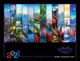 Vancouver Calendar by Laurazee