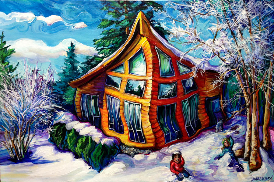 Zawadzki Cabin by Laurazee