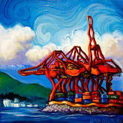 Crayola Cranes by Laurazee