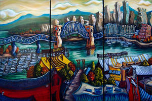 Granville Island Morning by Laurazee
