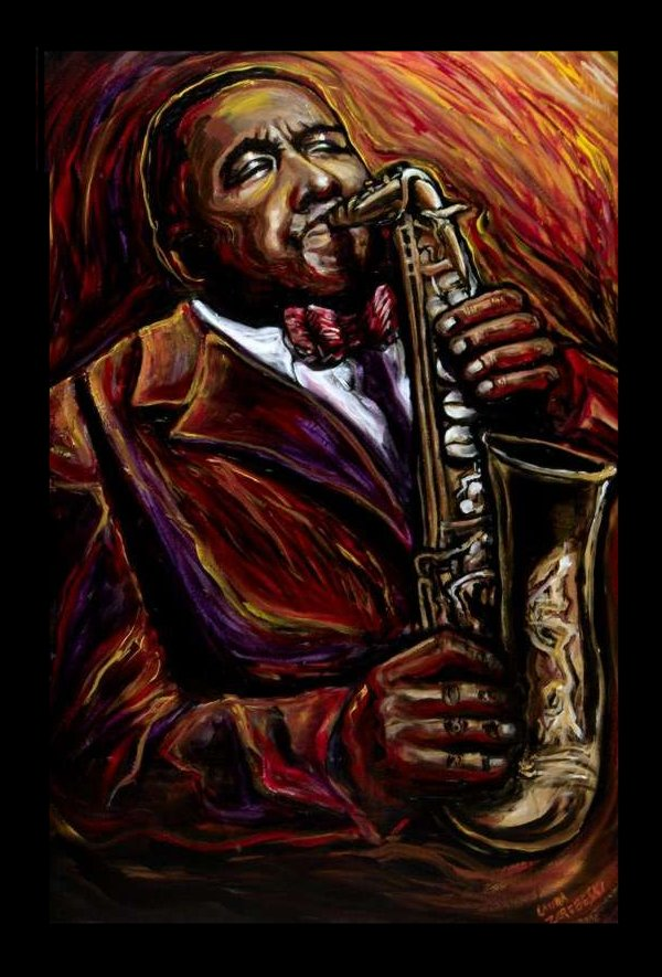 Charlie 'Bird' Parker by Laurazee
