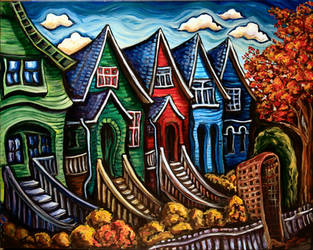 Kitsilano Neighborhood II by Laurazee