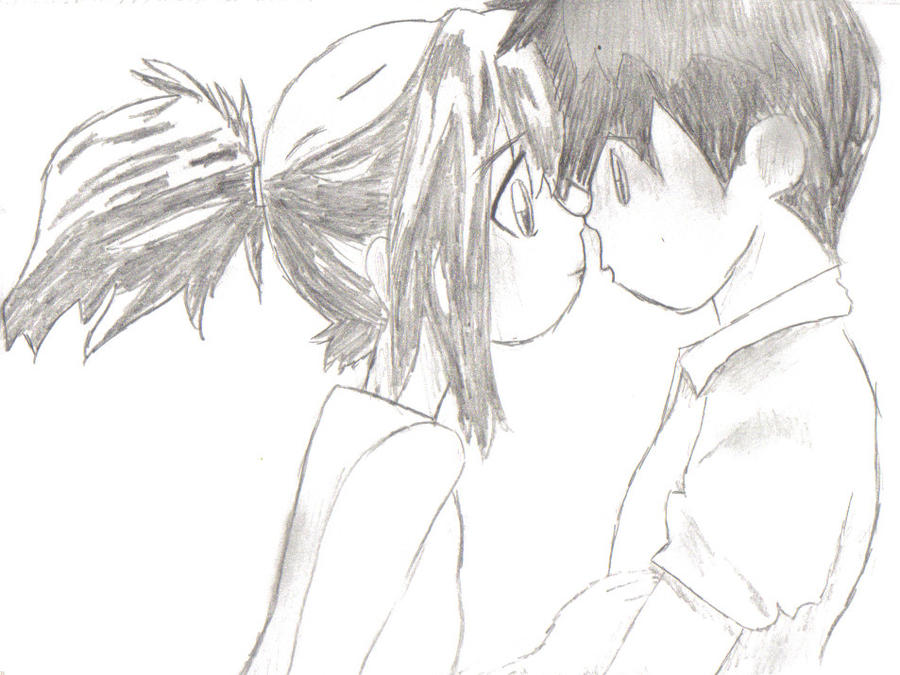 Anime Couples In Love Drawings Pictures   Photobucket