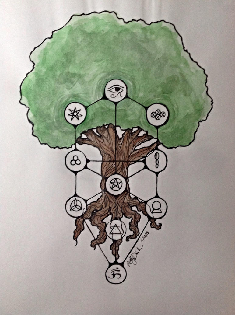 Tattoo Commission: Tree of Life by Addicted-to-caffeine on DeviantArt