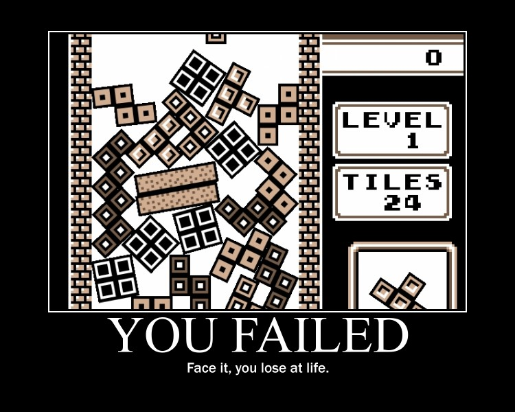 Tetris Fail by xSeanx123