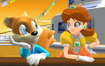 Conker and Daisy - On the Cruise