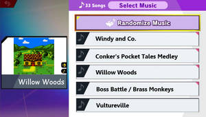SSBU - What if My Music - Willow Woods (Conker)
