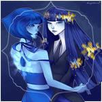 Lapis Lazulis [ SU x HnK ] +speedpaint