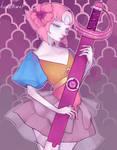 Pearl - A Single Pale Rose (+Speedpaint)