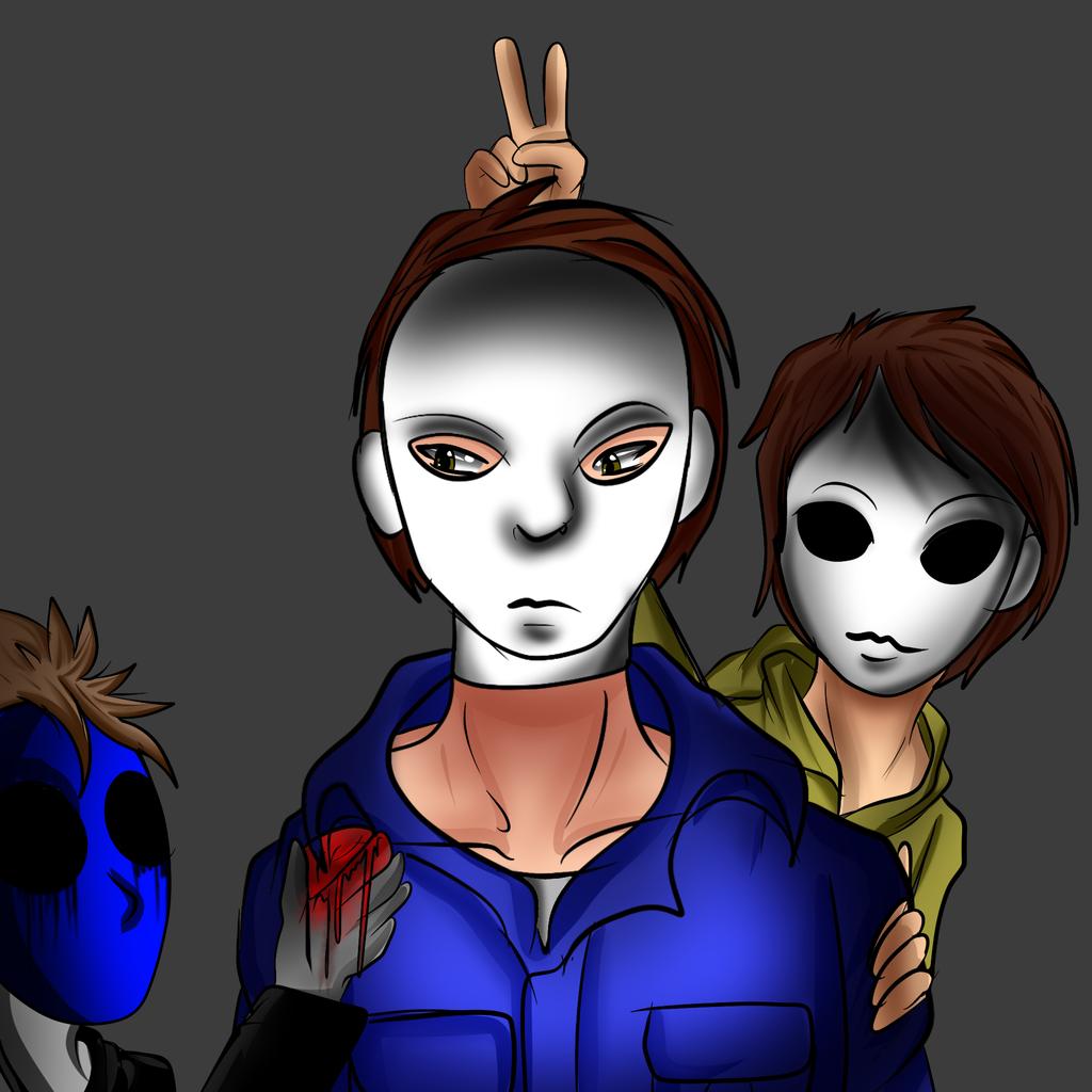 Myers Eyeless Jack and Masky by darkevilmuffens-Jay on ...