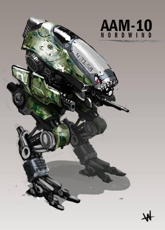 Mech by Hazzard65
