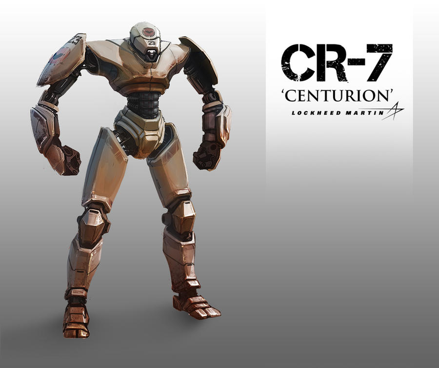 CR-7 Centurion by Hazzard65