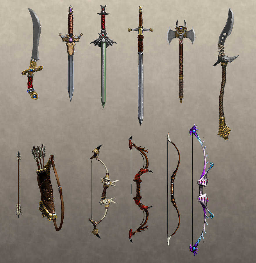 Melee weapons by hazzard65