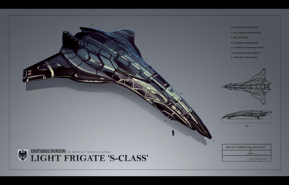 Knightsbridge SClass Light Frigate by Hazzard65