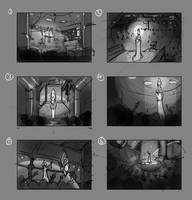 Art test scene comps