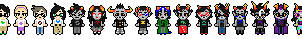 All of the sprites all of them by Royaline