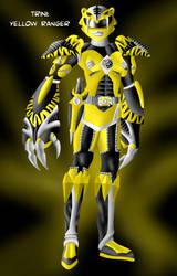 The Power Rangers: Trini by Distephano