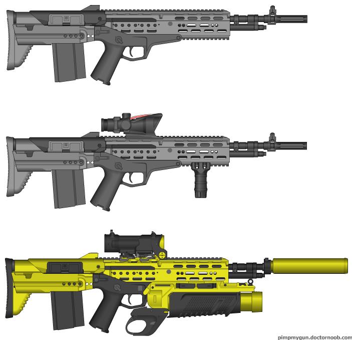 M14 Bullpup Remake by Vampirization on DeviantArt M14 Bullpup