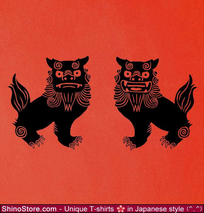 shisa okinawa lions design by shinostore on deviantart. Black Bedroom Furniture Sets. Home Design Ideas
