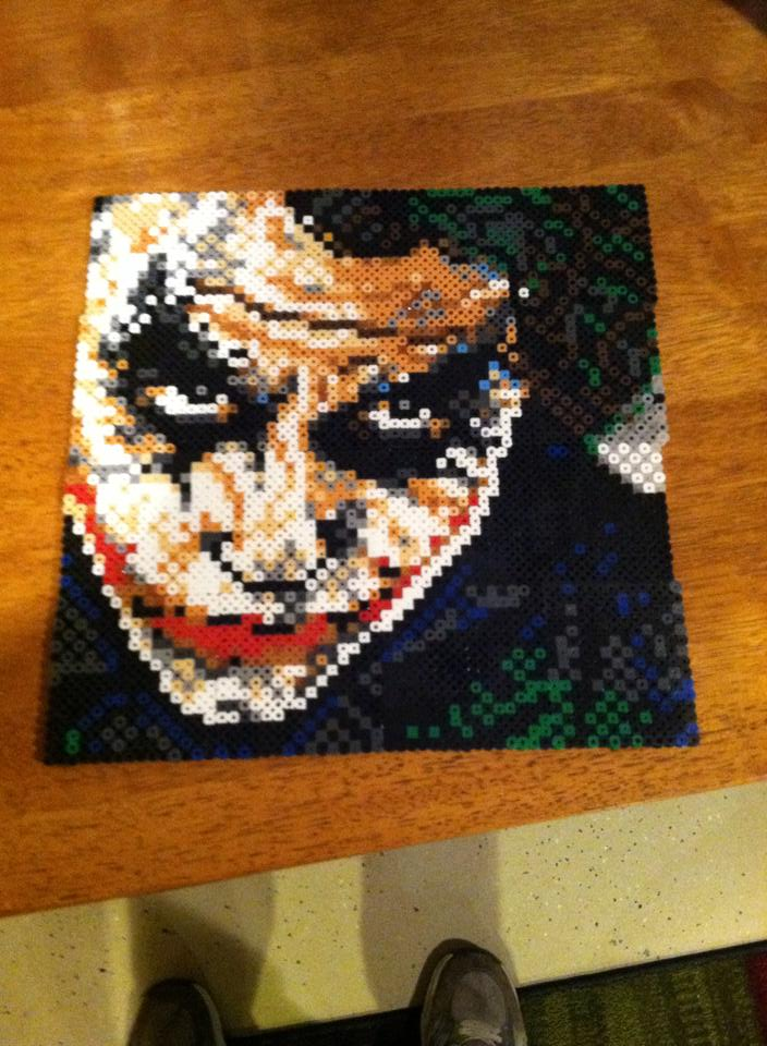 New perler Joker by dorkking12
