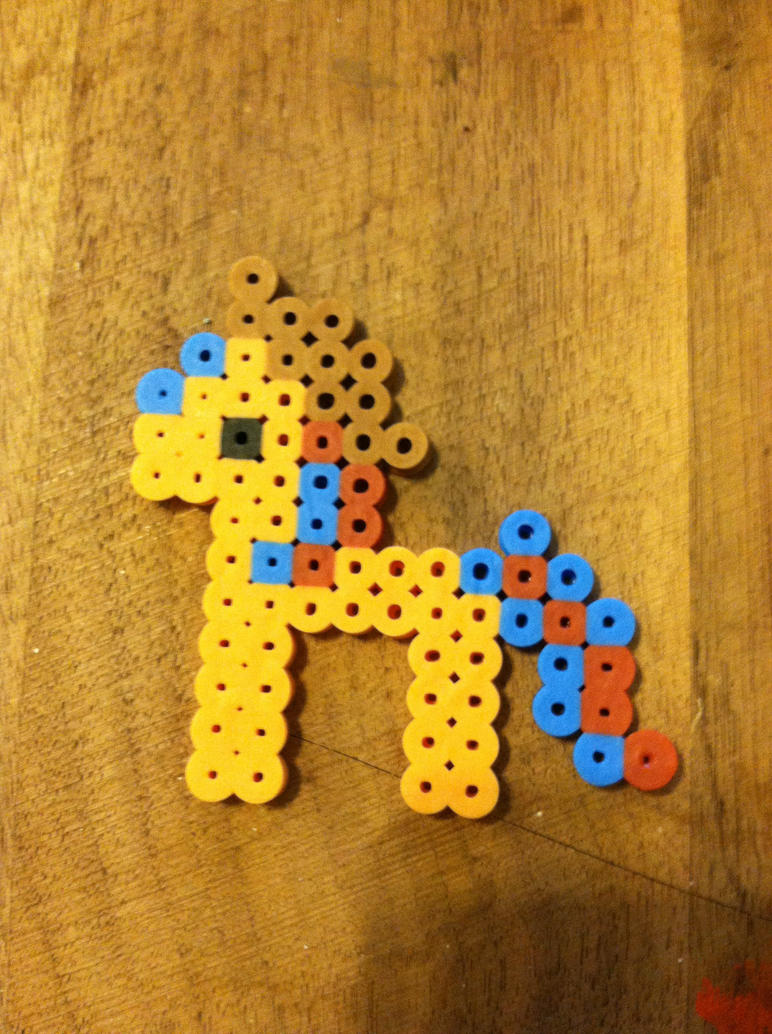 Brony fan Fair perler workshop design by dorkking12