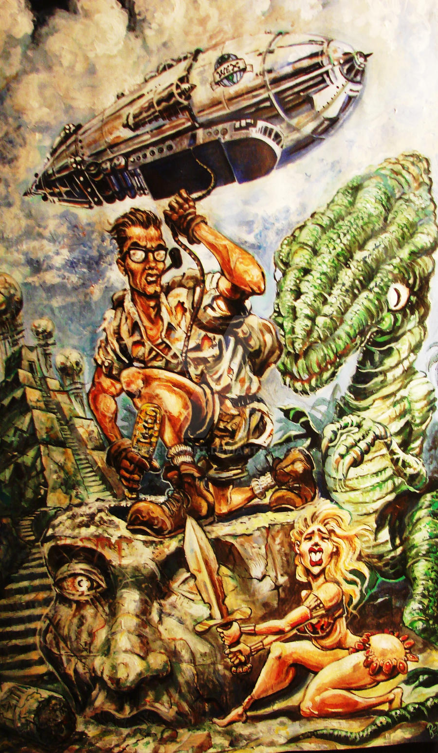 PROF WEXLER, WORLD EXPLORER by BERLINsART