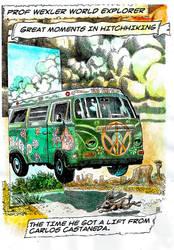 Professor Wexler's ROAD TRIP! by BERLINsART