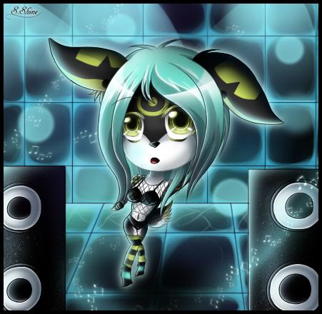 CP: Rave Bun by SapphireShine