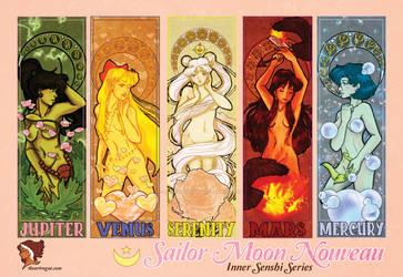 Sailor Moon Nouveau: Inner Senshi Series