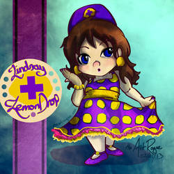 Lindsay Lemon Drop [Sugar Rush OC *Commission*]