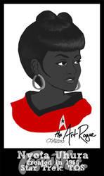 #FemiNoir DAY 5 - Nyota Uhura