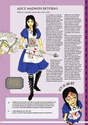 savepoint magazine project -Alice Madness Returns- by DontTrust